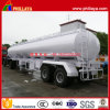 35 Cbm 2 Axles Carbon Steel Fuel Tanker Semi Trailer
