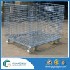 Wire Mesh Container with 4 Casters