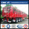 Cimc Huajun 3axle Stake/Cargo Semi Trailer with Locks