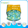 Double-Breasted Embroider Fabric Baby Diaper Baby Nappies