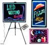 Rewritable LED Light Board Sign with Marker Pen