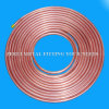 18m Long 6.35X0.91mm Refrigeration Flexible Copper Pipe