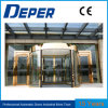 Two Wings Automatic Revolving and Sliding Function Door