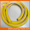 Ribbed Surface with 2 Symbol Lines Yellow PVC Air Hose
