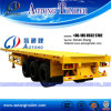 3 Axle Flatbed Container Transport Semi Trailer for Sale