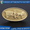 Factory Sale Grateful Oval Shape Pin Custom Enamel Badges