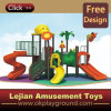 CE Long Line Good for Children Outdoor Plastic Playground (12070A)