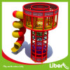 2014 New Indoor High Quality Play Spidertower with Tube Slide