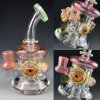 Bontek Most Popular Glass Water Pipe DAB Rig
