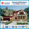 Economical New Design Green Light Steel Villa