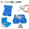 2018 New 4 Cavity Diamond Shape 3D Ice Cube Mold Maker Bar Party Silicone Trays Chocolate Mold ...