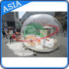 Human Snow Globe Photo Booth, Inflatable Christmas Decoration Snow Ball for for Advertising