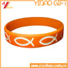 Custom Dobossed Logo Silicone Bracelet for Promotional Gift