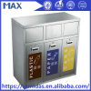 Max Hot Sell Stainless Steel Recycle Garbage Bin Made in China