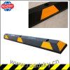 High Reflective Black & Yellow Rubber Car Parking Wheel Stop