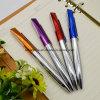 New Design Custom Logo Promotional Metal Pen with Squashed Upper Barrel (LT-C080)