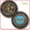 Custom Promotion 3D Soft Enamel Metal Souvenir Coin