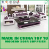 Wooden Office Genuine Leather Sofa Furniture