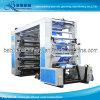 Timing Belt Drive System Plastic Film High Speed 6 Colors Flexo Printing Machine