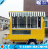 Sliding Glass Window Ice Cream Street Carts