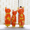 Animal Ornament Porcelain Decoration Decal Kitty Ceramic Crafts