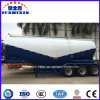 3axles 60ton Engine Compressor Powder Bulk Cement Tank Semi Trailer