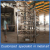 Hot Sale Customized Silver Wine Display Shelf for Retail Shop/Bar