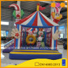 Aoqi Newest Inflatable Game Circus Clown Combo Slide Bouncer (AQ01605)