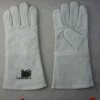 Grey Cow Split Leather Welding Glove (6504)