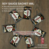 6ml Soy Sauce in Sachet for Japanese Sushi Foods