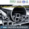 Round Square Tube Customized Aluminium 6063 Extrusion Profile