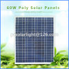 60W Poly Renewable Energy Saving Sunpower Pet Solar Panel