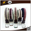 New Fashion Unisex Knitted Belt Men Woven Elastic Stretch Belt