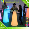 Light Luminous LED Rotational Outdoor Bar Chairs and Tables