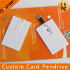 White Card USB Flash Drive Pendrive (YT-3101)