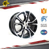 Electroplating Silvery 17 18 Inch Alloy Wheel for Auto Spare Parts