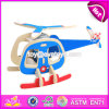 New Design Airplane Build Kit Funny Kids Wooden Assembly Toys W03b068