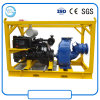Trailer Mounted Self Priming Diesel Engine Centrifugal Sewage Pump