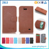 Litchi Pattern PU Leather Flip Cover Phone Case for Zte Overture 2 Z813