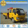 3 Tons Crew Cab Isuzu 3t Double Cab Truck Mounted Crane Price