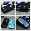 Mobile Phone Accessory PC+ Silicone Tire Cell Phone Armor Case for iPhone 5 6 Case for Samsung S6 S7 Cover