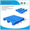 Warehouse Products EU Standard Pallet 1200*1000*155mm HDPE Plastic Tray Plastic Pallet with 3 Runners Insert 4 Steel Bar
