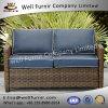 Well Furnir Wf-17129 Wicker Loveseat with Cushions