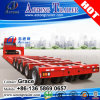 Original Widely Used Tyre Exposed 100t 3 Line 6 Axles Low Bed Semi Trailers for Sale