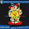 Custom Ribbon Metal Cartoon Run Medal with Different Color