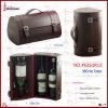 Elegent Imitation Leather Multi Bottle Wine Box (5251R12)