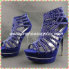 Sexy Ladies High Heel Women Fashionable Red Shoes Sexy Sandals