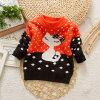 7gg Acrylic Spring/Autumn Kid Pullover Children Sweater Girl Knit Wear