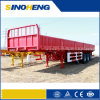 Durable Steel 3 Axles Side Wall Semi Trailer/ Cargo Trailer