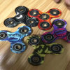 Colorful Tri-Spinner Fidget Toy Plastic EDC Hand Spinner
